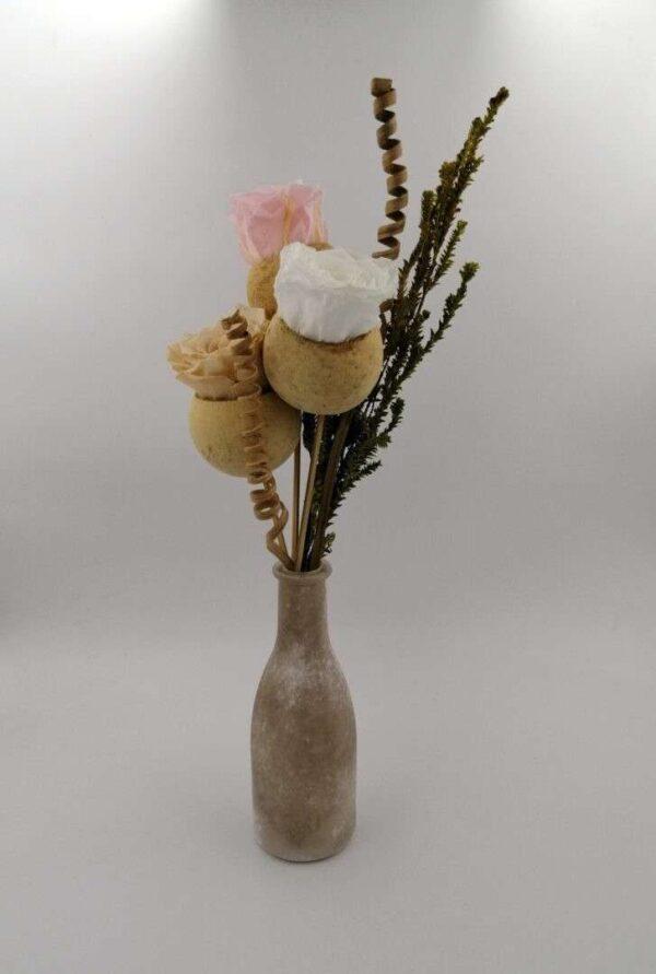 vaza trandafiri