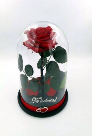 trandafir cristale Swarovski