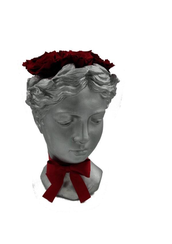 trandafir vaza