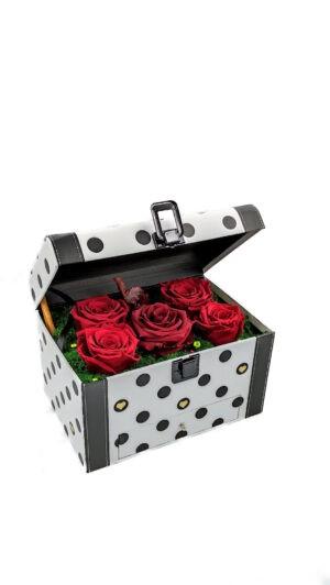 trandafiri criogenati biarose